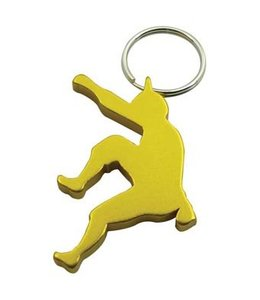 Climber Key Chain w/ Bottle Opener Assorted Colors