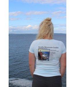 Acadia Mountain Guides Women's Logo Short Sleeve Shirt