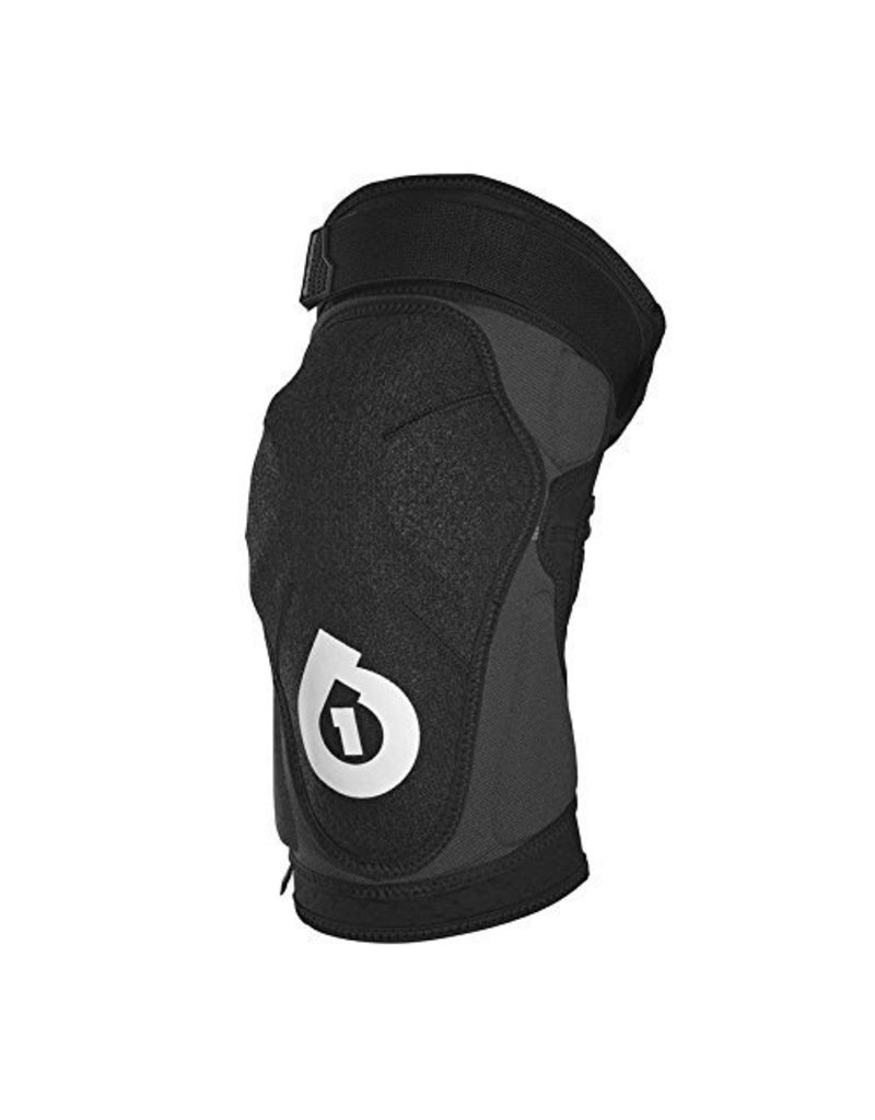 Six Six One SixSixOne EVO Knee Pad: Black Large