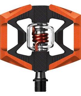 Crank Brothers Crank Brothers Doubleshot Pedals, Orange/Black