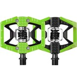 Crank Brothers Crank Brothers Limited Edition Doubleshot Pedals, Green/Black