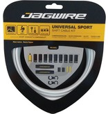 Jagwire Universal Sport Shift Cable Kit: White Kit