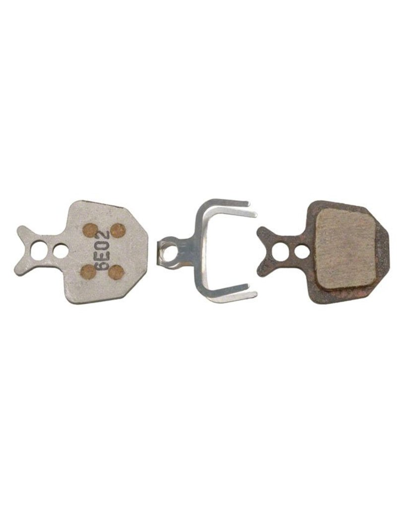 Formula USA Formula Oro Organic Disc Brake Pad: Alloy back Set