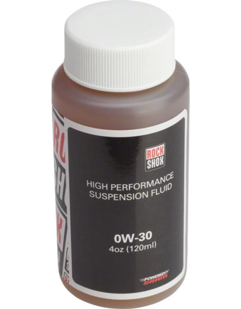 RockShox Suspension Oil, 0W-30, 120ml Bottle (Pike, Lyrik B1, Yari Lowers)