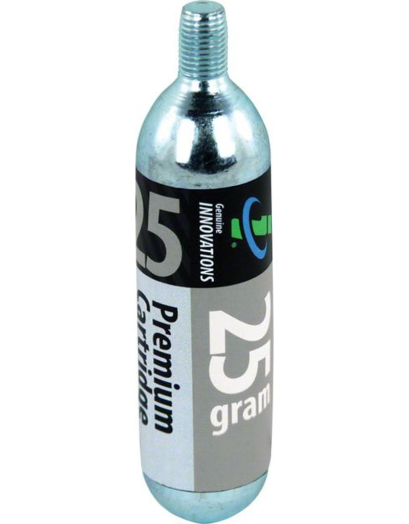 Genuine Innovations 25g Threaded CO2 Cartridges, Single