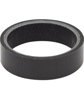 "Carbon headset spacer, 1-1/8"" x 2.5mm"