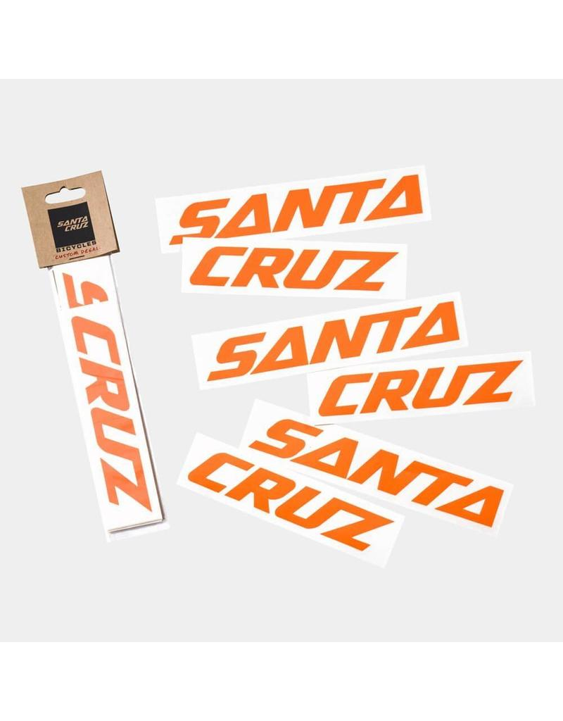 Santa Cruz Bicycles Santa Cruz Downtube Decal
