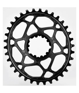 Absolute Black Absolute Black Spiderless Direct Mount Oval chainring