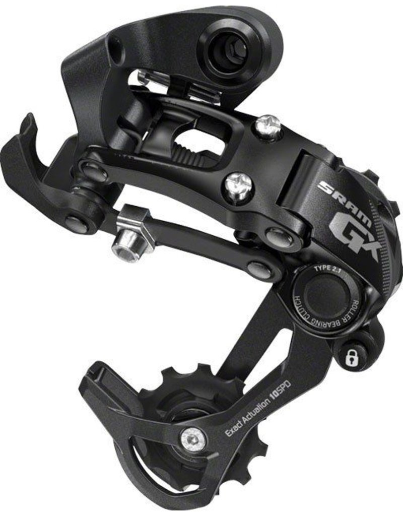 SRAM SRAM GX Type 2.1 10-Speed Long Cage Rear Derailleur Black