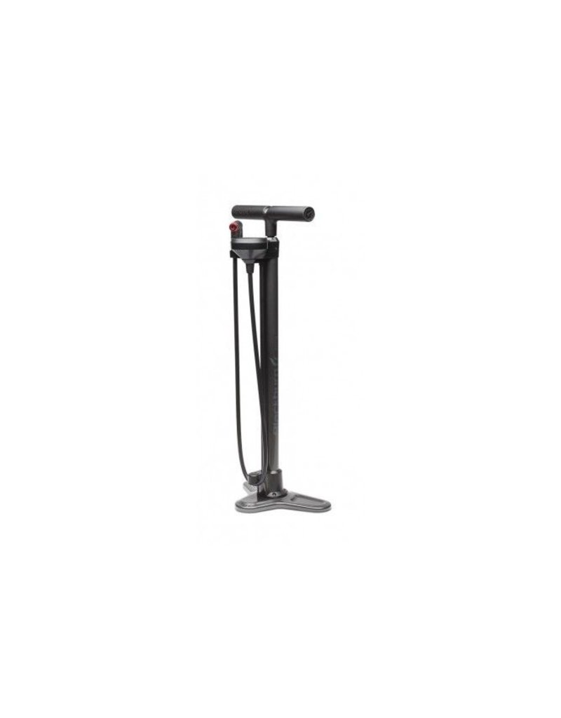Blackburn Piston 4 Floor Pump Metallic Silver