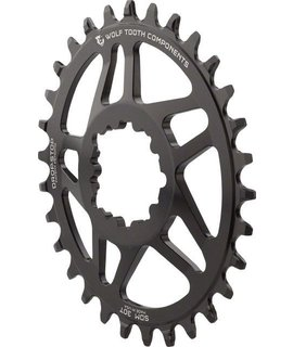 Wolf Tooth Components Wolf Tooth Components Drop-Stop Elliptical Chainring: 32T for SRAM Direct Mount, 6mm Offset