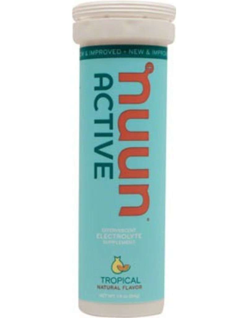 Nuun Active Hydration Tablets: Tropical Fruit,