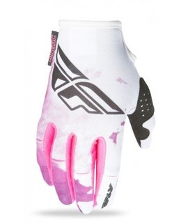 Fly Racing Fly Racing Kinetic Glove Womens Pink/Purple Large