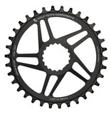 Wolf Tooth Components Wolf Tooth Elliptical GPX Direct Mount Boost Chainring 34t Black