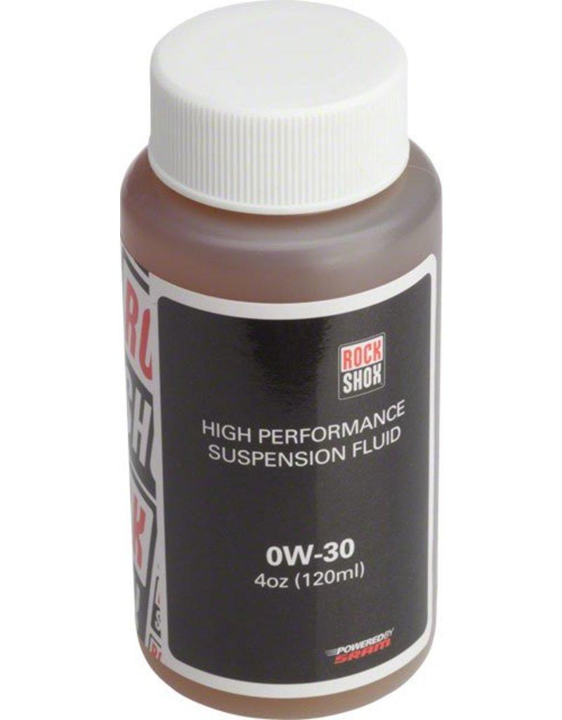 Rock Shox RockShox Suspension Oil, 0W-30, 120ml Bottle, Pike/Lyrik B1/Yari Lower Legs