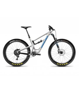 Santa Cruz Bicycles Demo Santa Cruz Hightower 2018 CC XO1 27.5+ Grey/Blue Large