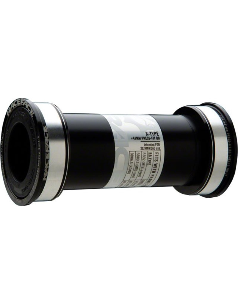 Race Face X-Type Bottom Bracket: 41mm ID x 92mm BB Shell x 24mm Spindle (BB92)