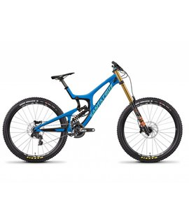 Santa Cruz Bicycles Santa Cruz V10 2018 CC XO1 DHX2 Blue/Mint Extra Large
