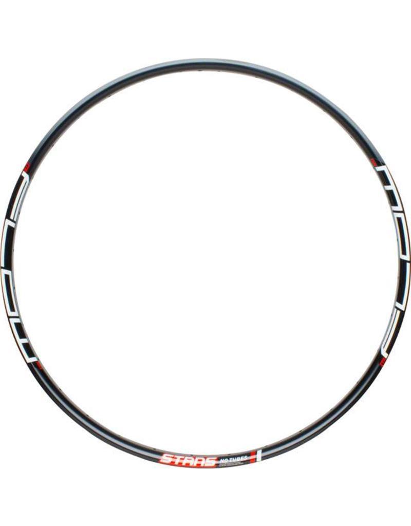 """Stan's No Tubes Flow MK3 27.5"""" disc rim, black - 32h"""