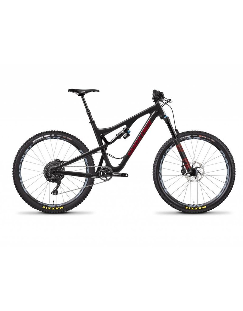 Santa Cruz Bicycles Santa Cruz Bronson 2018 C XE Black/Sriracha Medium