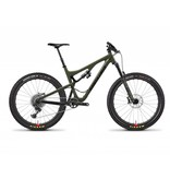 Santa Cruz Bicycles Demo Santa Cruz Bronson 2018 CC XX1 W/RSV Green/Black Medium