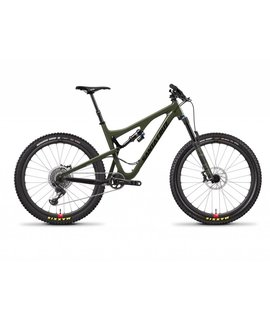 Santa Cruz Demo Santa Cruz Bronson 2018 CC XX1 W/RSV Green/Black Medium