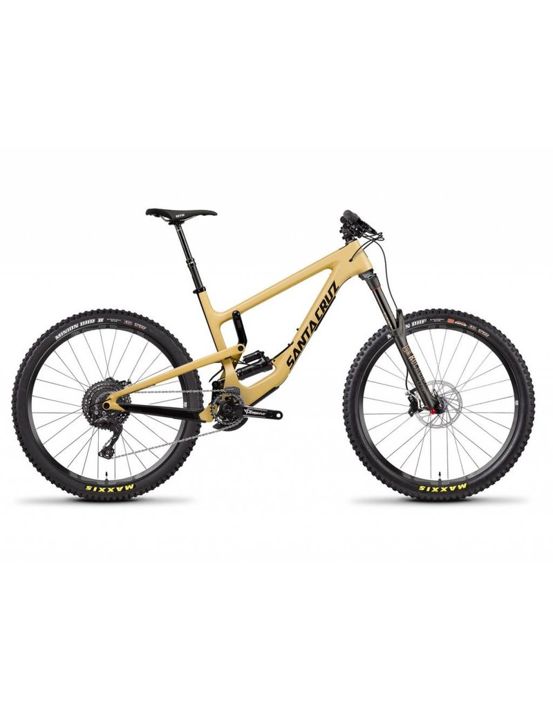 Santa Cruz Bicycles Santa Cruz Nomad 4 C XE RCT 2018  Tan/Black Extra Large