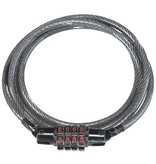 Kryptonite Kryptonite KryptoFlex Keeper 512 4-Digit Combo Cable Lock: 4' x 5mm