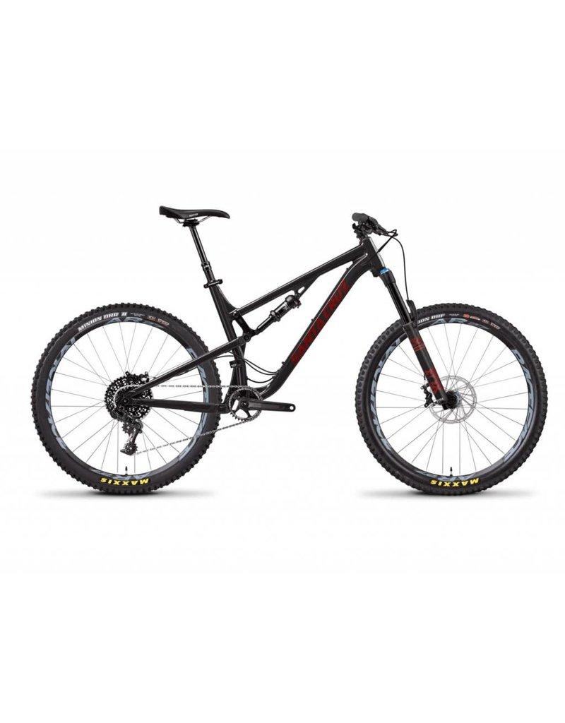 Santa Cruz Bicycles Santa Cruz Bronson 2018 A S Black/Sriracha Large