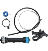 RockShox RockShox Remote Upgrade Kit, TurnKey 17mm, Includes Remote Compression Damper and PopLoc Remote Right, 32mm Sektor Silver/XC32/Recon Silver