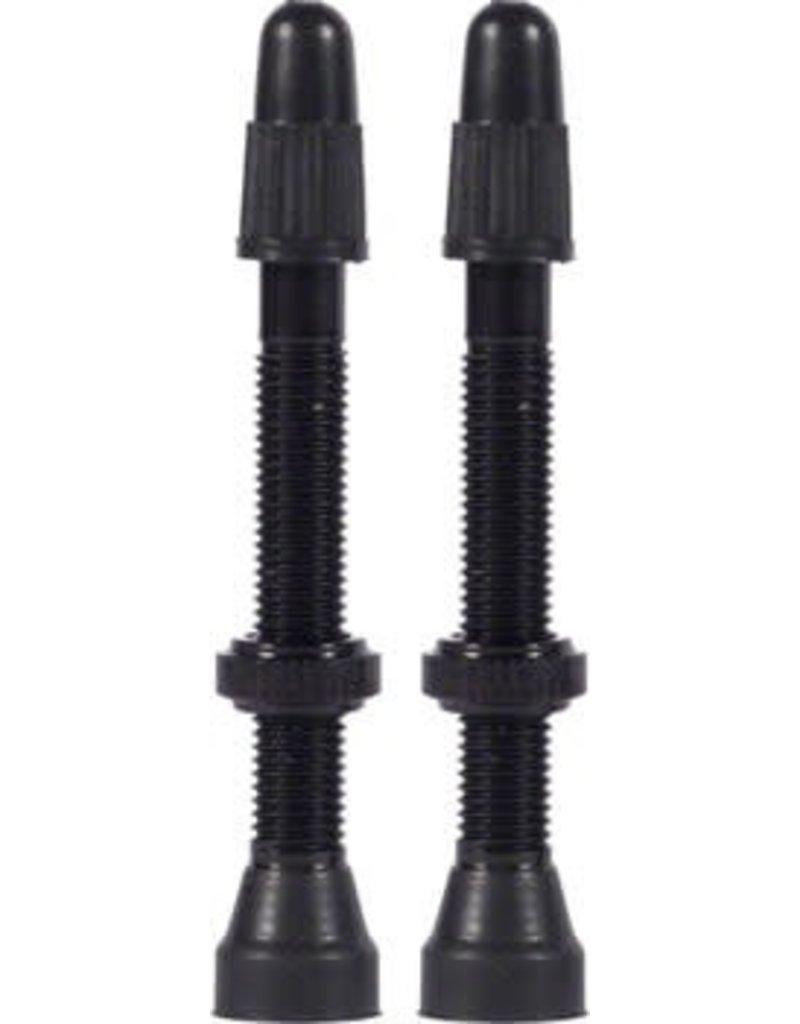 WTB WTB Aluminum TCS Valve Stem: 34mm, Black, Pair