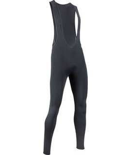 Bellwether Thermaldress Men's Bib Tight with Chamois: Black XL