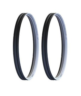 "CushCore Cush Core Tire Inserts Set 27.5"" Pair, Includes 2 Tubeless Valves"