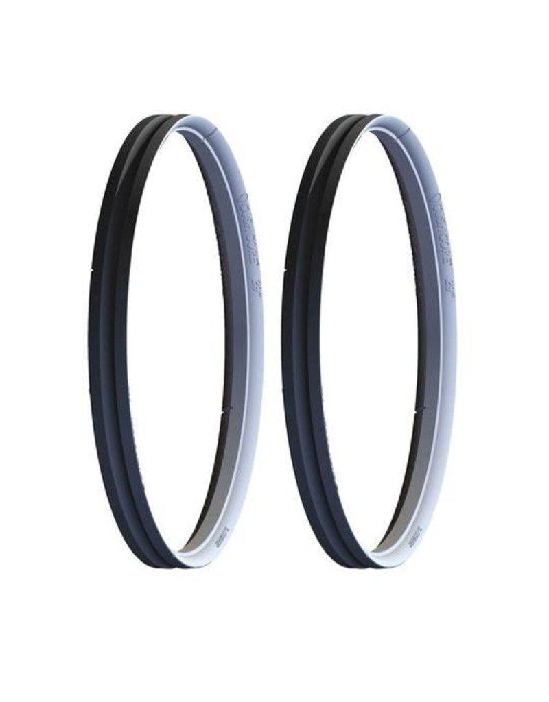 "CushCore Cush Core Tire Inserts Set 27.5"" Pair, Includes 2 Tubeless Valves"