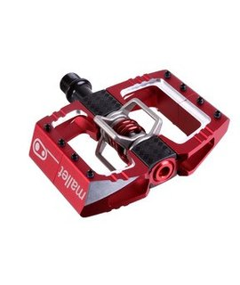 Crank Brothers Crank Brothers Mallet DH Pedal Red