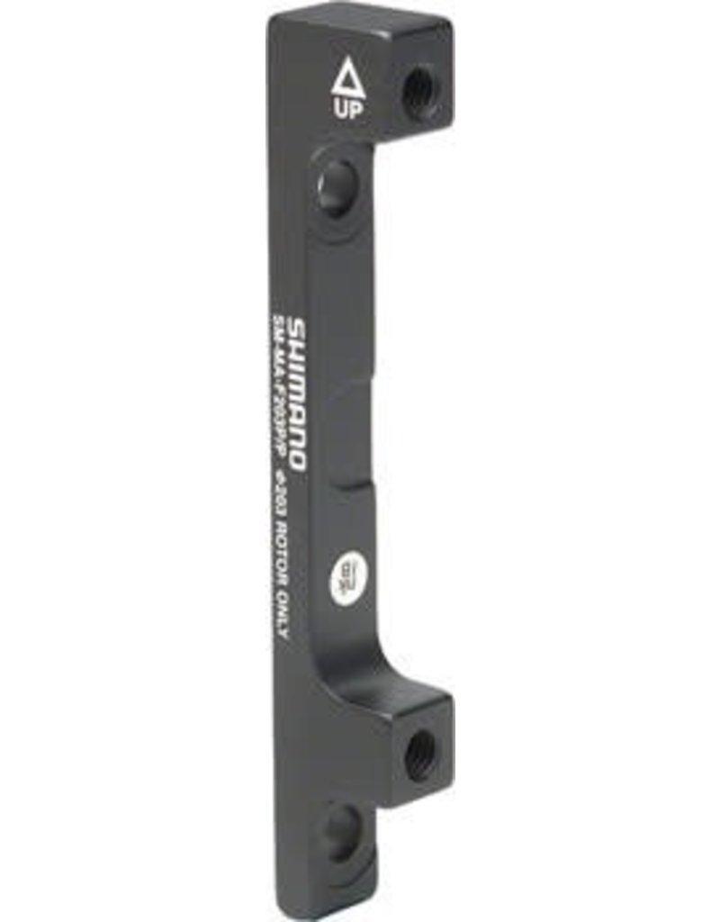 Shimano Shimano F203P/P Disc Brake Adaptor for 203mm Rotor, 74mm Caliper, 74mm Frame or Fork
