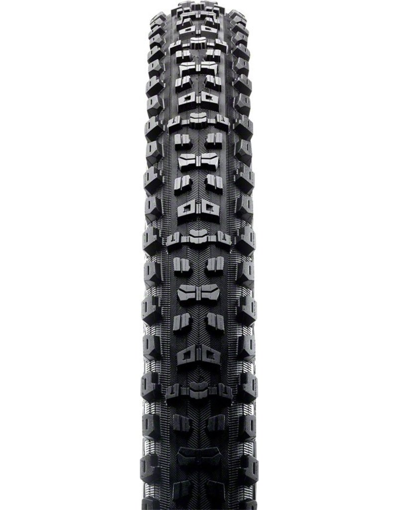 """Maxxis Maxxis Aggressor WT Tire 27.5 x 2.5"""" 120tpi Dual Compound Double Down Casing Tubeless Ready, Black"""