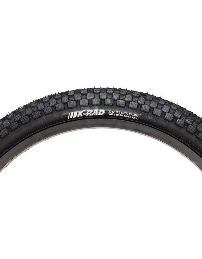 """Kenda K-Rad Tire 24"""" x 2.3"""" Steel Bead Black"""