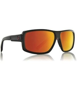 Dragon Dragon Double Dos Jet Sunglasses Red Ionized