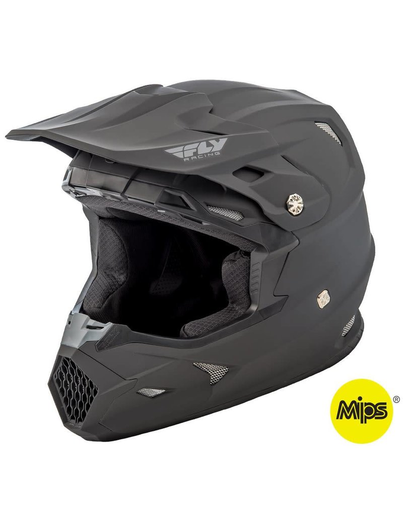 Fly Racing Fly Racing Toxin Mips Helmet, Matte Black Extra Large