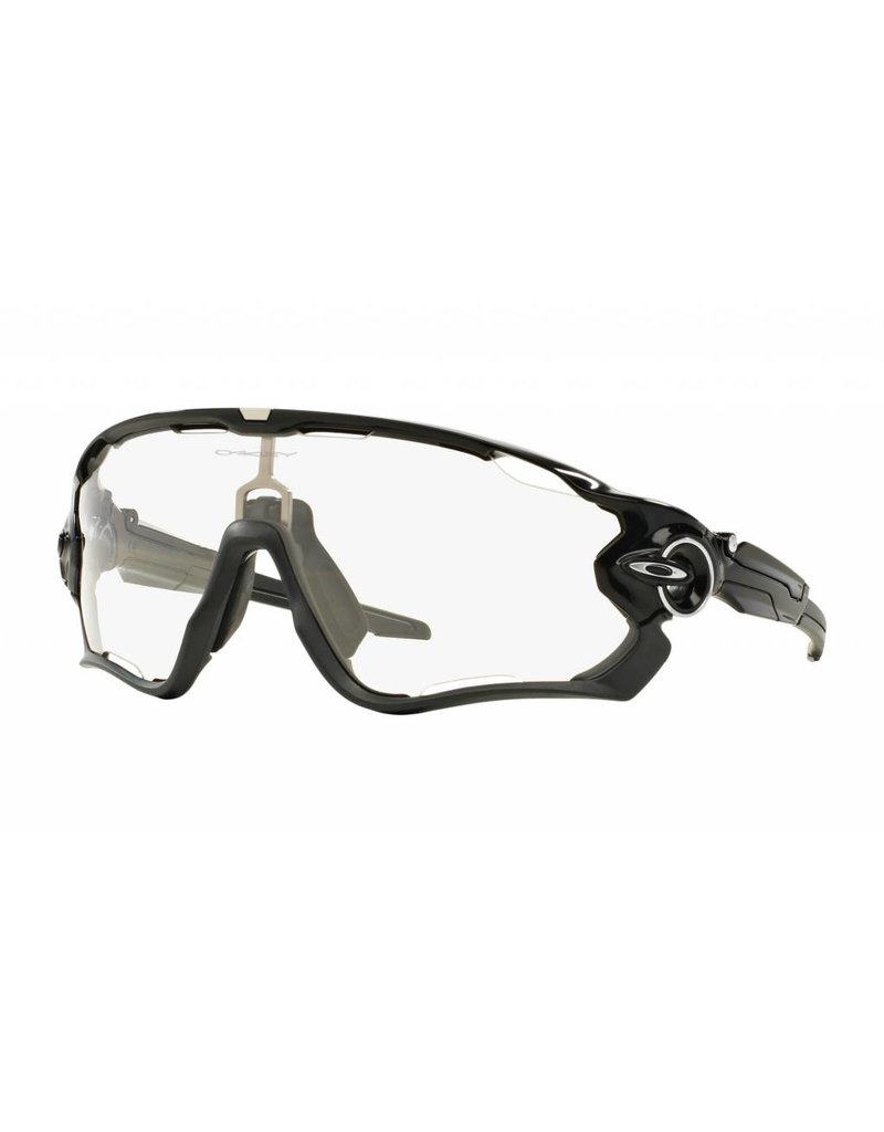 Oakley Oakley Jawbreaker, Polished Black Frame w/ Clear Black Iridium Photochromic Lens