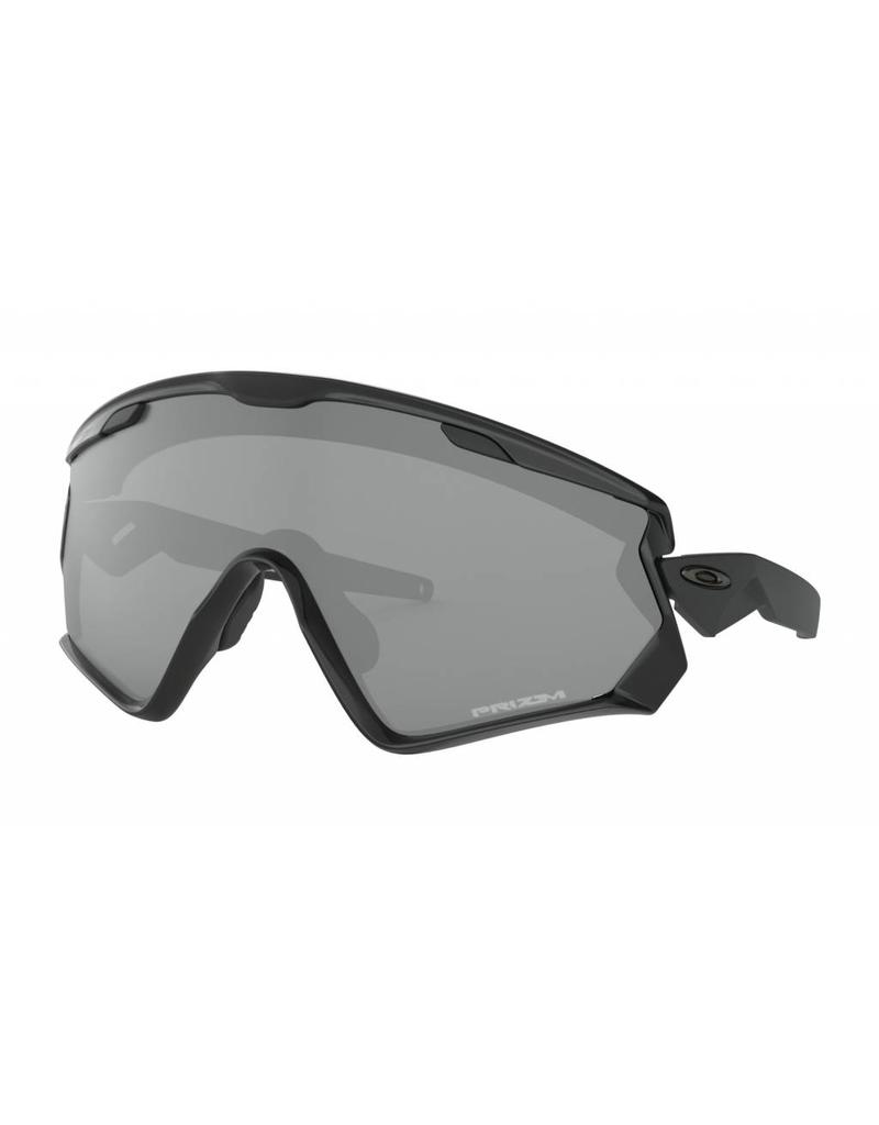 Oakley Oakley Wind Jacket 2.0 Polished Black Frame w/ PRIZM Black Lens