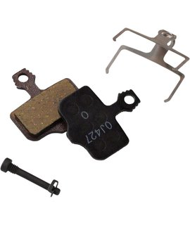 SRAM Avid/ SRAM Disc Brake Pads, Fit Elixir and DB Series, Level TL, Level T, Level, Organic with Steel Back 1 Set