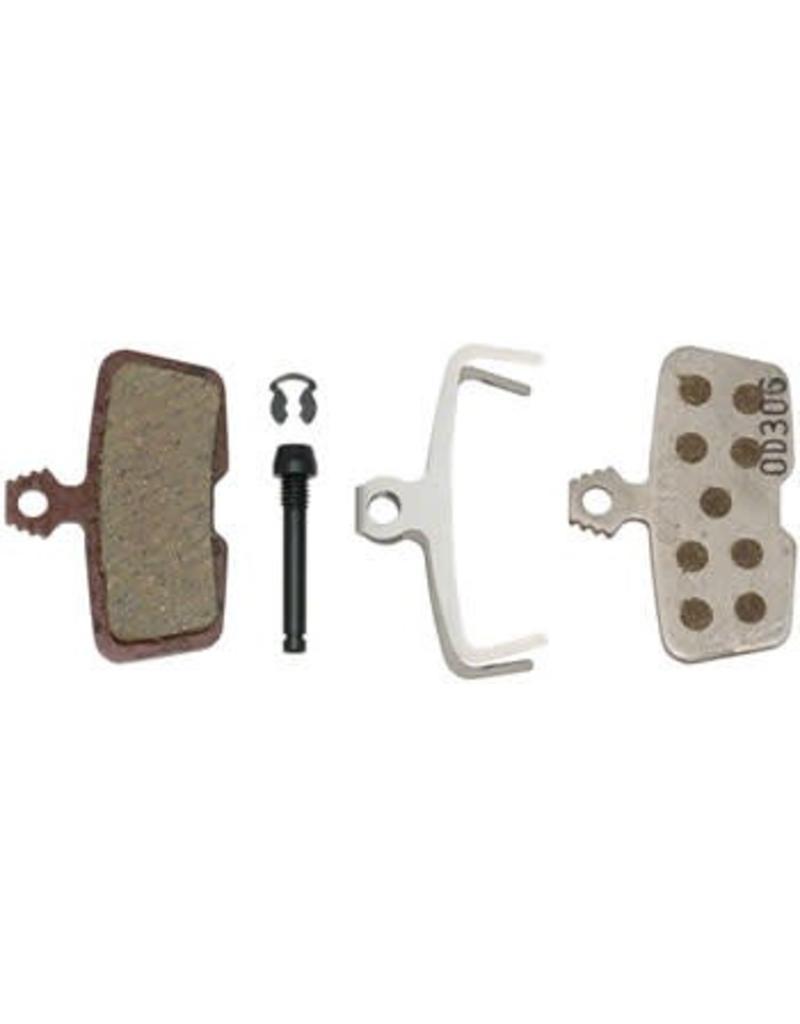 SRAM SRAM Avid Code, RSC, Code R, Guide RE Organic Disc Brake Pad, Aluminum Back, Pair
