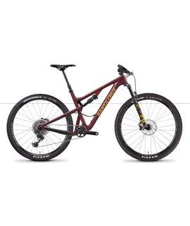 "Santa Cruz Bicycles Demo Santa Cruz Tallboy 2019 X01 29"" Oxblood/Tan Medium"