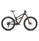 "Santa Cruz Bicycles Santa Cruz 2019 Hightower C S Reserve, 29"", Matte Carbon/Orange Large"