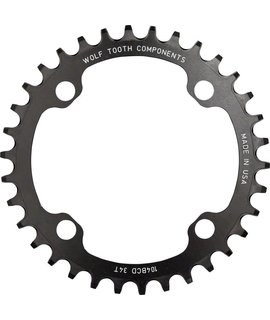Wolf Tooth Components Wolf Tooth Components 34t 104bcd Drop-Stop Chainring, Black