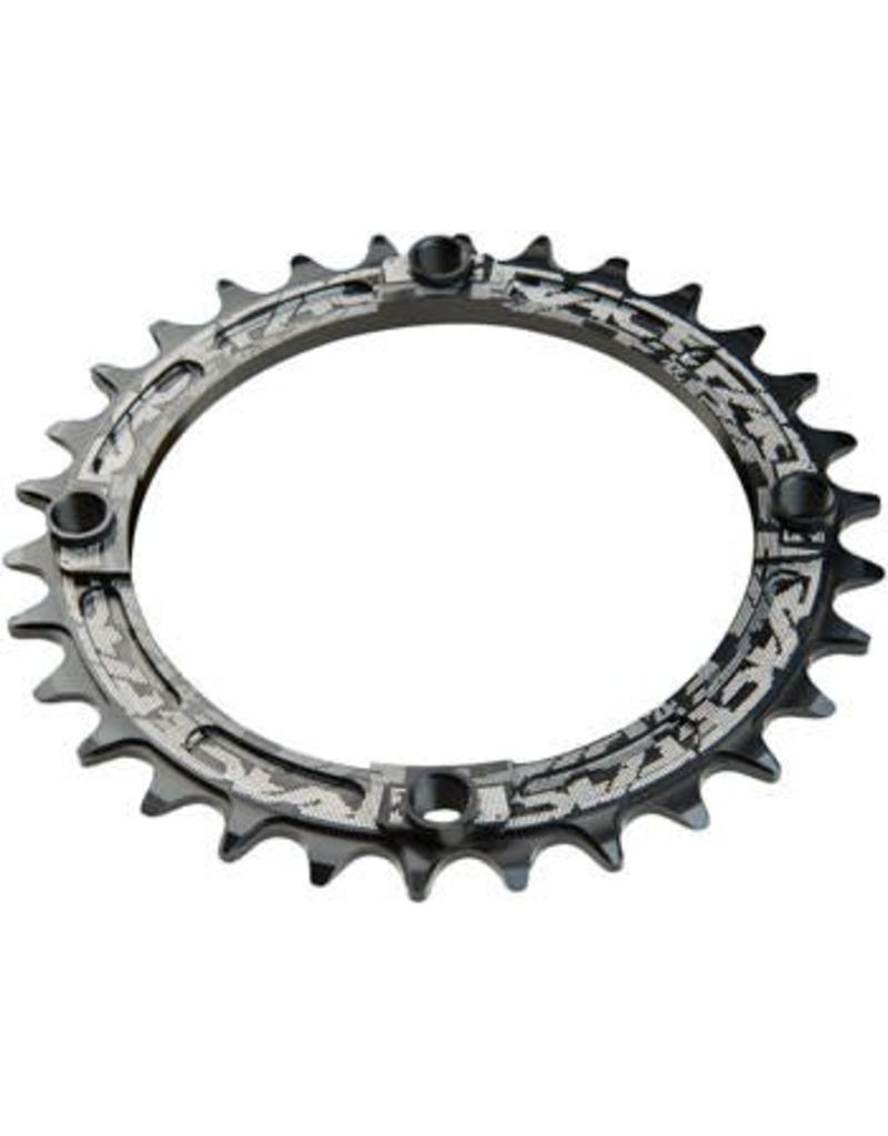 RaceFace RaceFace Narrow Wide Chainring: 104mm BCD, 30t, Black