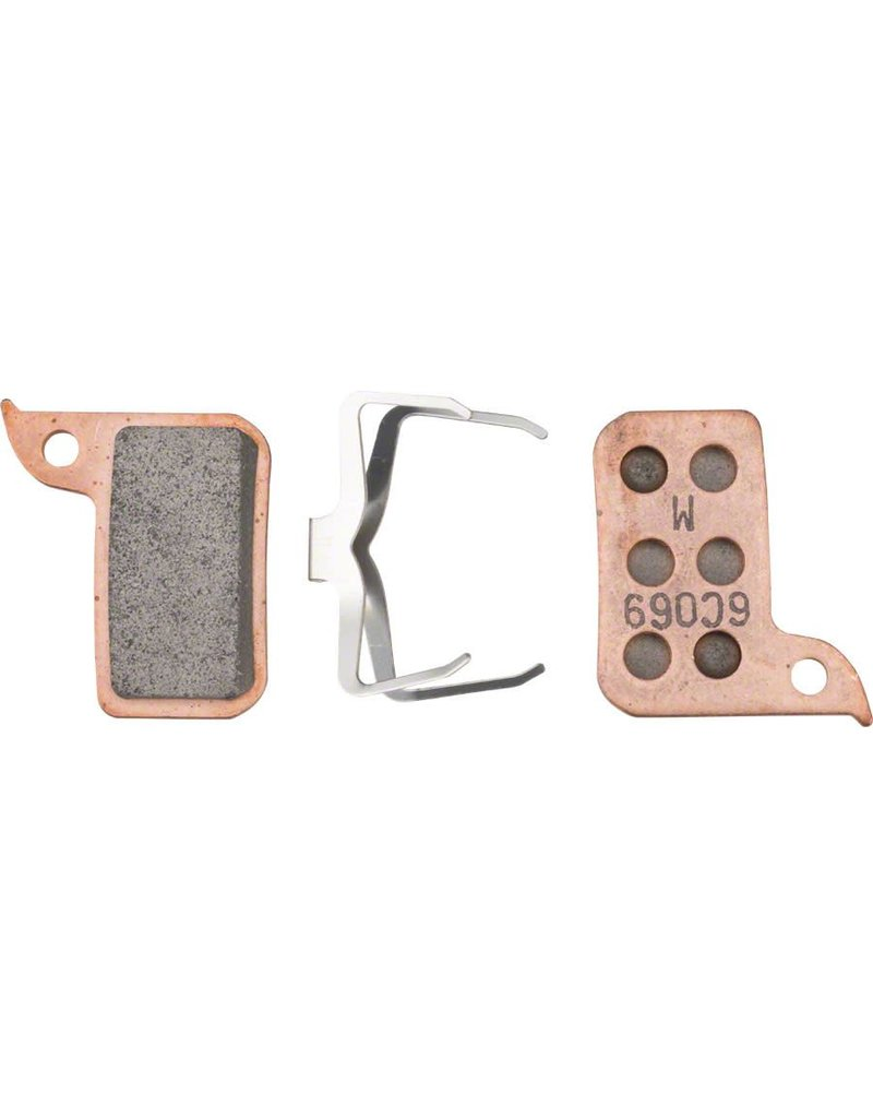 SRAM SRAM Brake Pads HRD Sintered, Steel Back