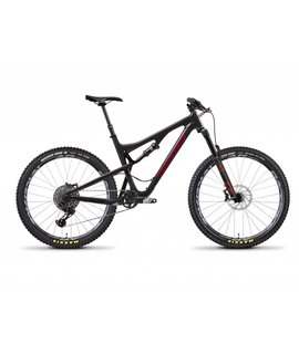 Santa Cruz Bicycles Santa Cruz Bronson 2018 C S Black/Sriracha Large